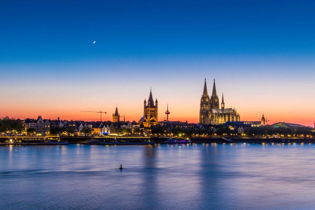 Kölner Panorama am 25.04.2020