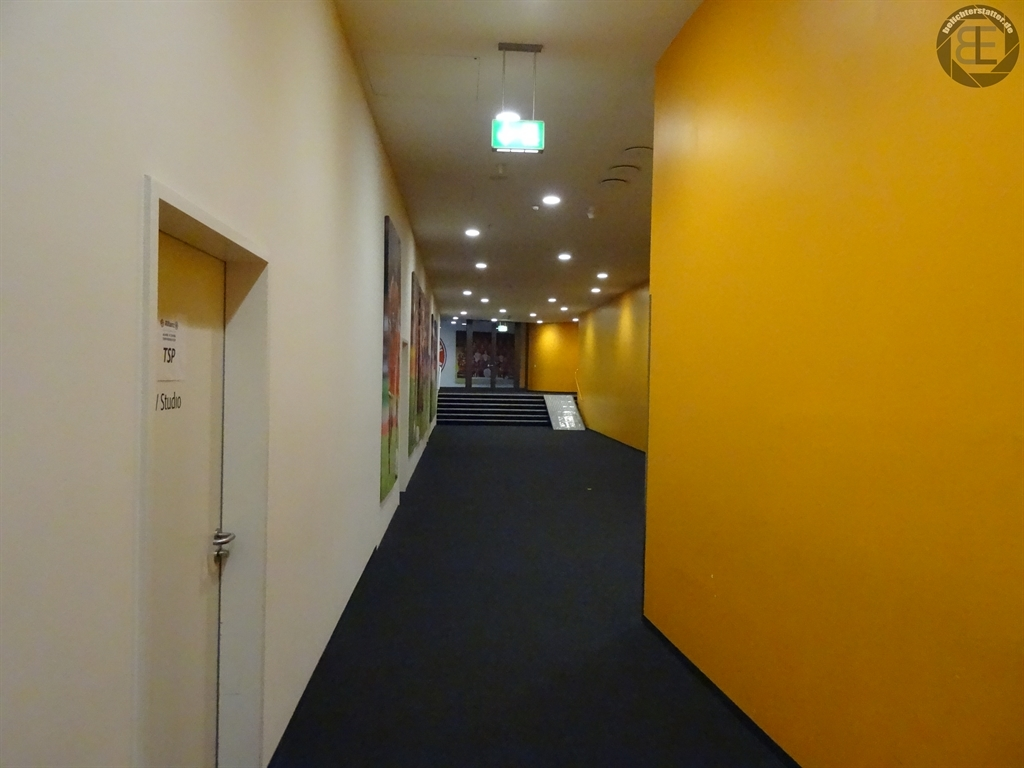 Weg zum Presseraum der Allianz Arena