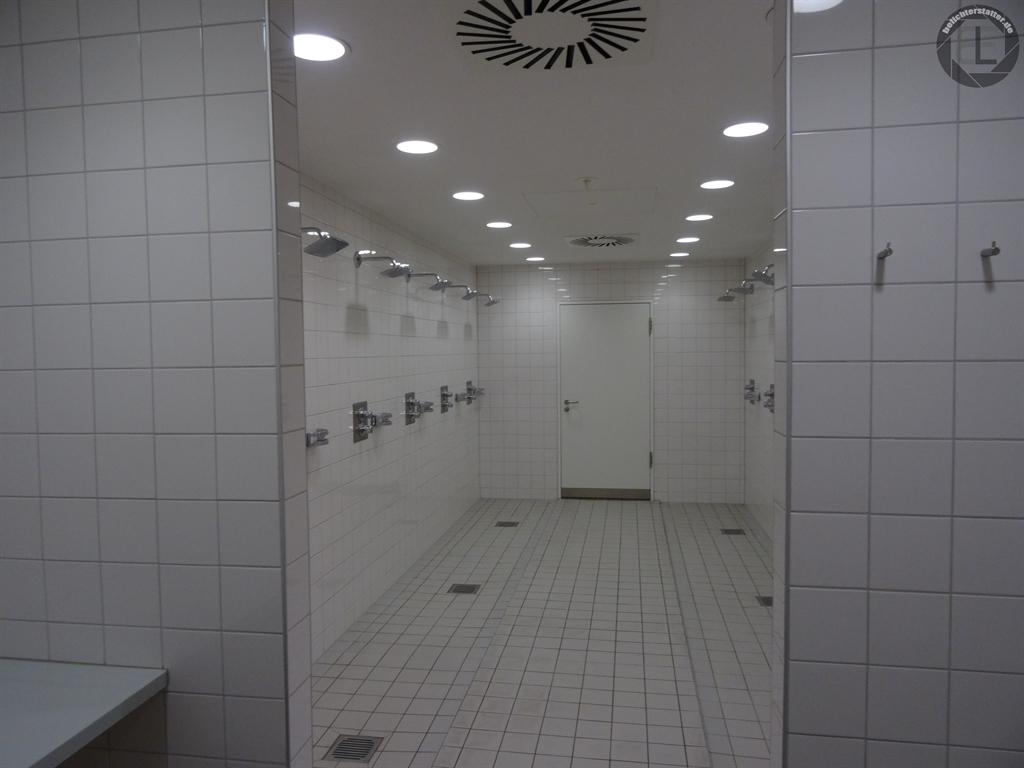 Sanitärbereich in der Allianz Arena