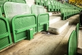 Sitzschalen im Ernst-Happel-Stadion in Wien