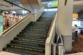 Aufgang zur Besucherterrasse Konrad-Adenauer-Flughafen Köln