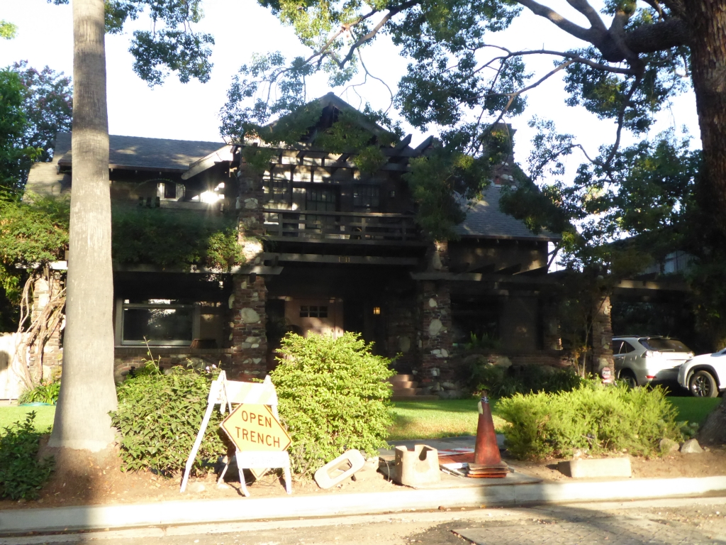 Haus von George McFly (Anschrift: 1711 Bushnell Ave, South Pasadena, CA 91030)