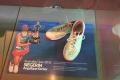 Schuhe vom Sieg bei den Australian Open 2016 von Angelique Kerber im Deutschen Sport- und Olympiamuseum in Köln