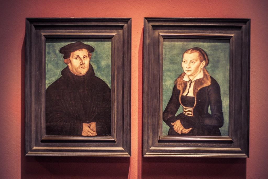 Porträt von Martin Luther im Deutschen Historischen Museum