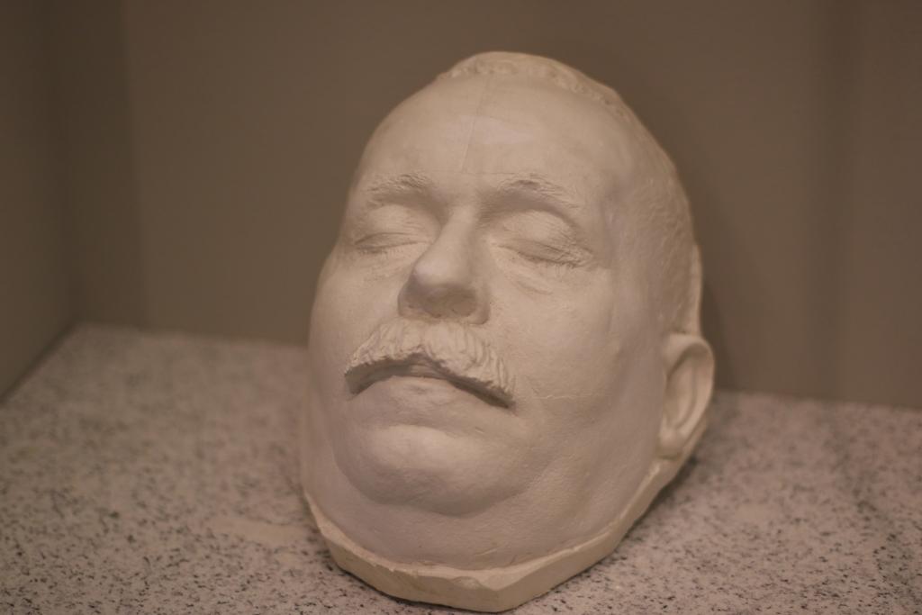 Totenmaske von Friedrich Ebert im Deutschen Historischen Museum
