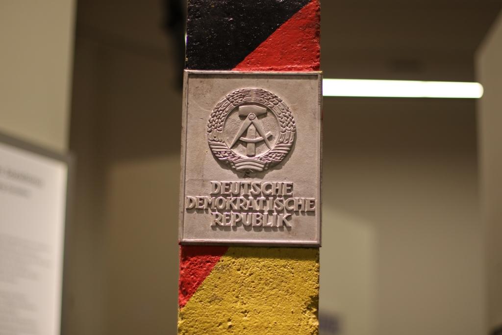 Grenzstein im Deutschen Historischen Museum