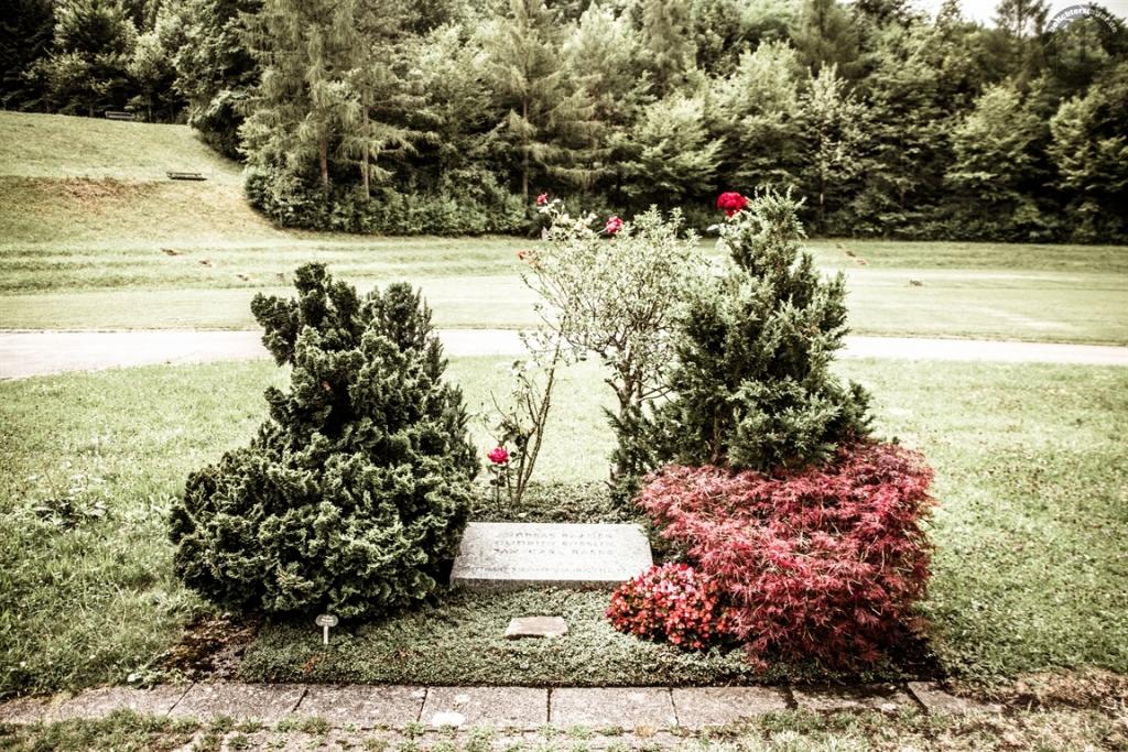 Grab von Baader, Ensslin und Raspe