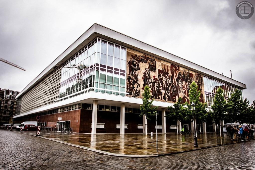 Kulturpalast in Dresden im Juli 2018