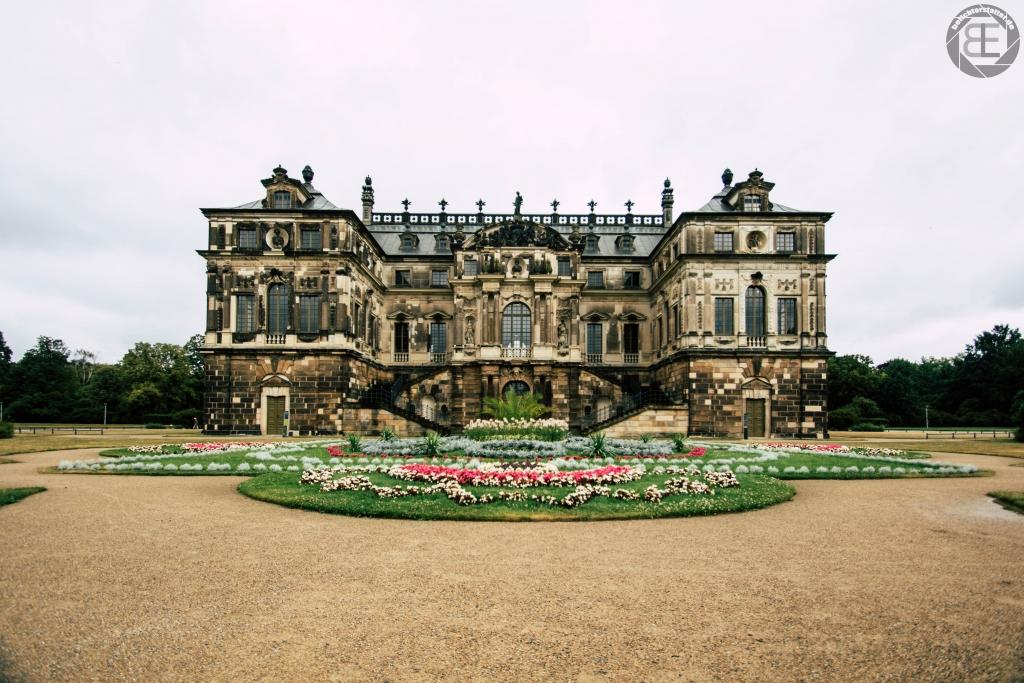 Palais im Großen Garten in Dresden im Juli 2018