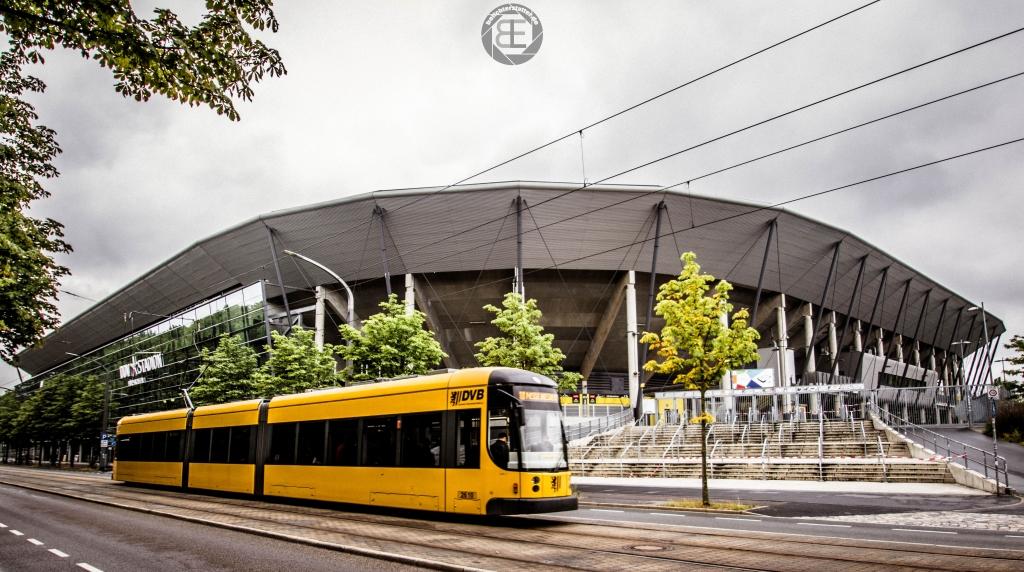 DDV-Stadion Dresden im Juli 2018