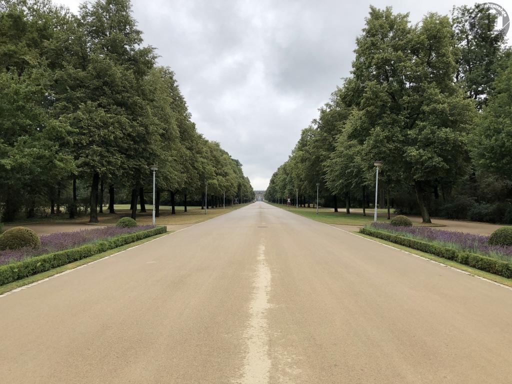 Großer Garten in Dresden im Juli 2018