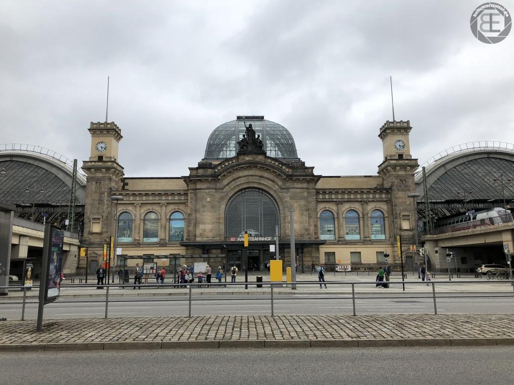 Hauptbahnhof Dresden im Juli 2018