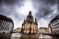 Frauenkirche in Dresden im Juli 2018