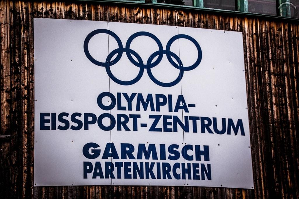 Olympia-Eissport-Zentrum in Garmisch-Partenkirchen