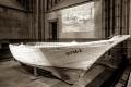 Flüchtlingsboot im Kölner Dom