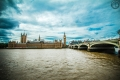 Big Ben und Palace of Westminster in London