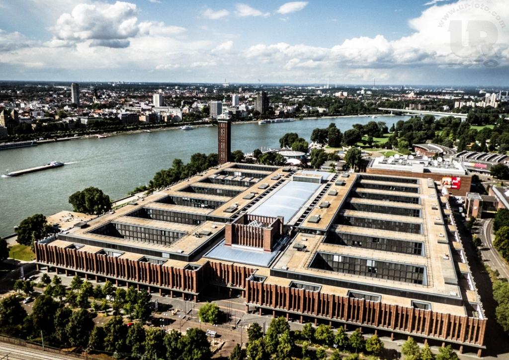 Blick auf die Messe / RTL (Köln)
