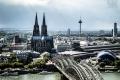 Blick vom LVR-Turm in Köln