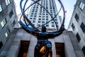 Atlas-Statue vor'm Rockefeller Center in New York City