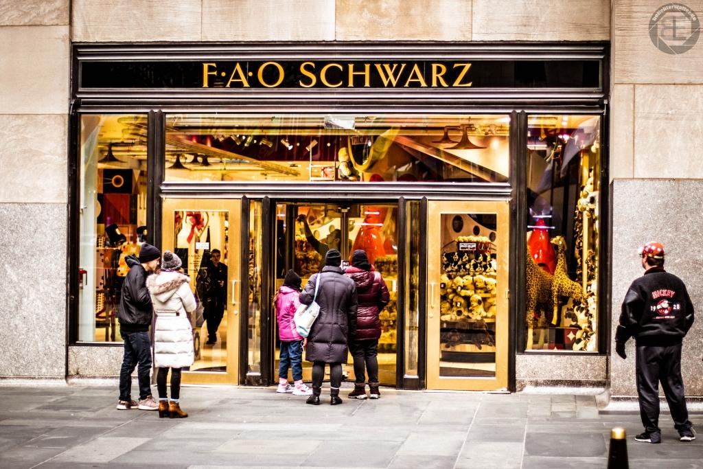 New York City 2019: FAO Schwarz im Rockefeller Center