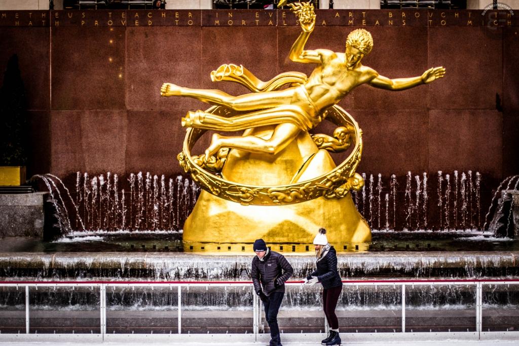 New York City 2019: Prometheus im Rockefeller Center