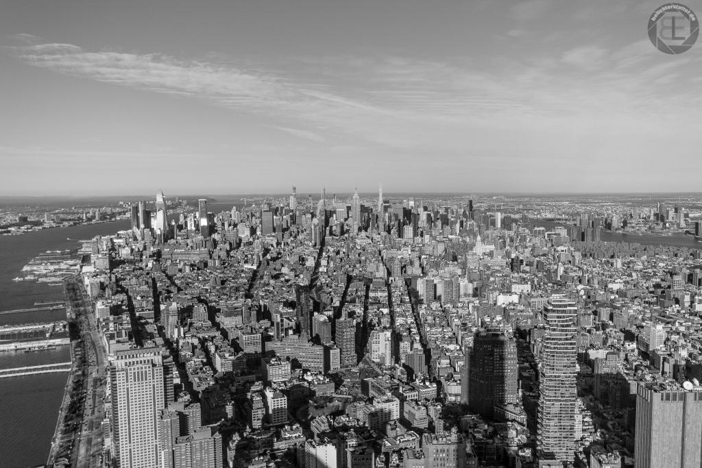 New York City 2019: Ausblick von One World Observatory