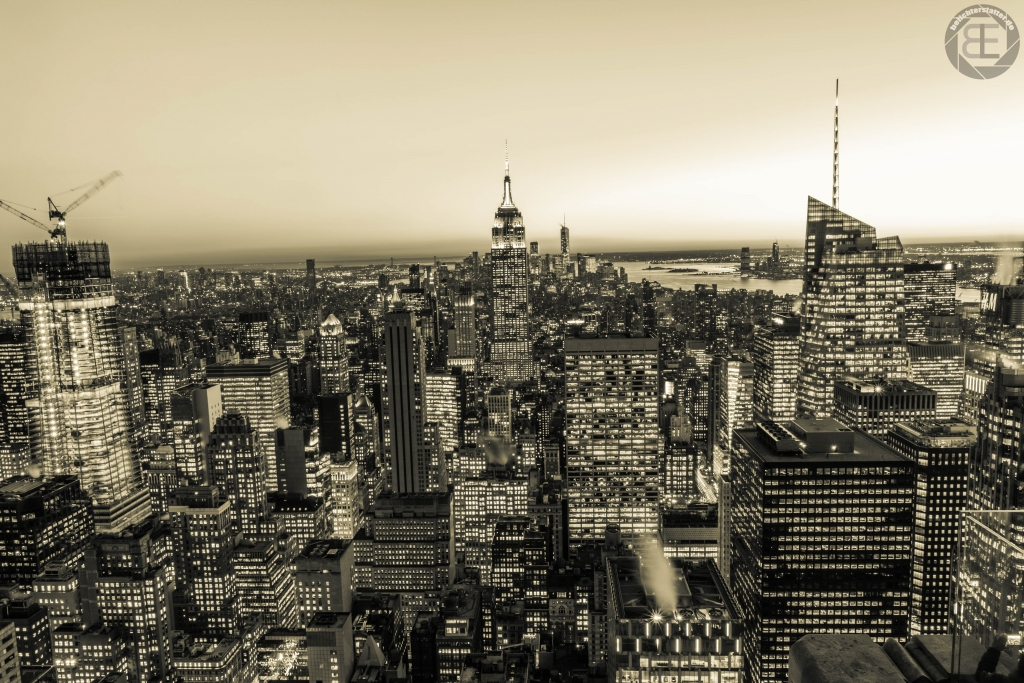 New York City 2019: Ausblick von Top of the Rock