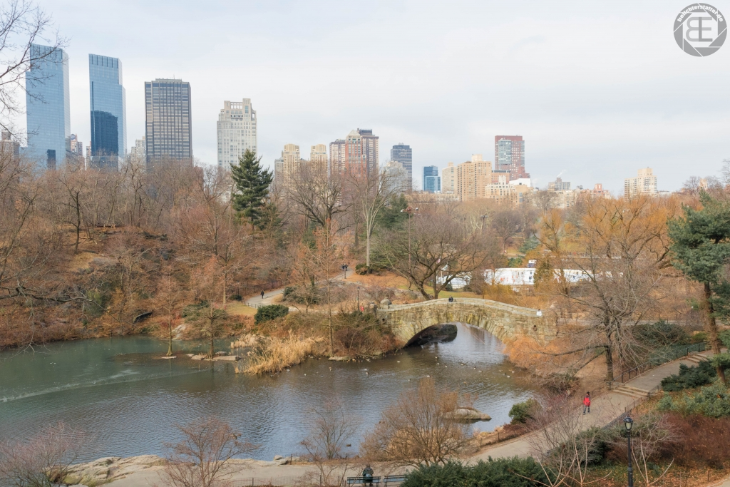 New York City 2019: Gapstow Bridge im Central Park
