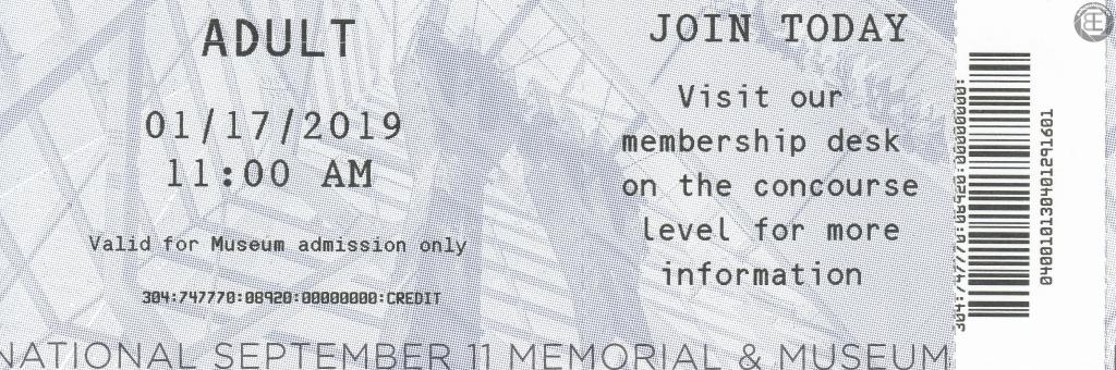 New York City 2019: Eintrittskarte National September 11 Memorial & Museum