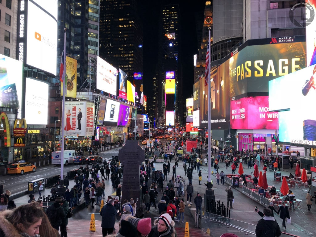New York City 2019: Times Square (iPhone-Foto)