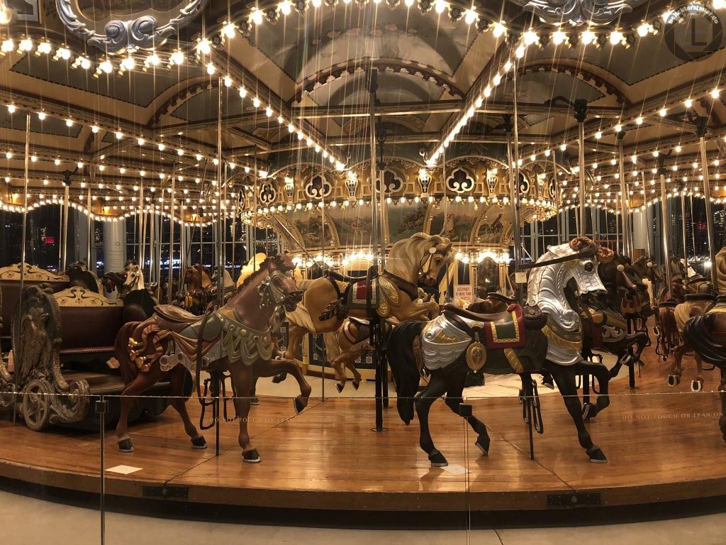 New York City 2019: Jane's Carousel in Brooklyn (iPhone-Foto)