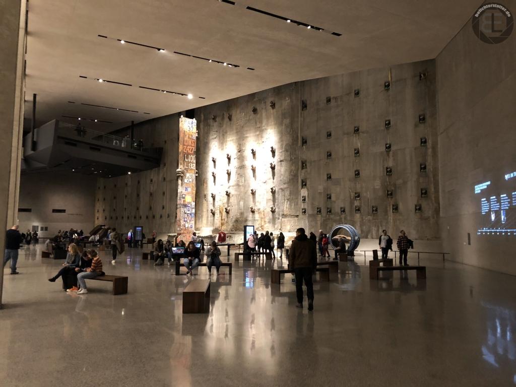 New York City 2019: National September 11 Museum (iPhone-Foto)