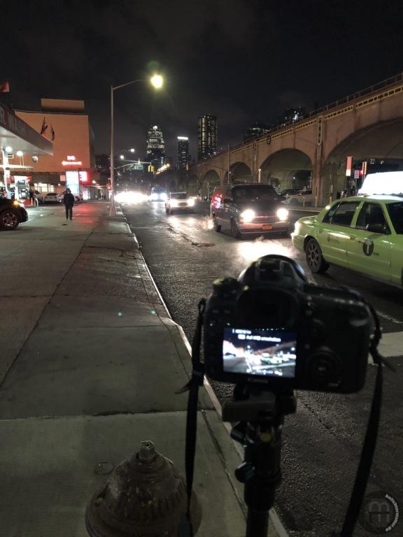 New York City 2019: Making of ... Langzeitbelichtung (iPhone-Foto)