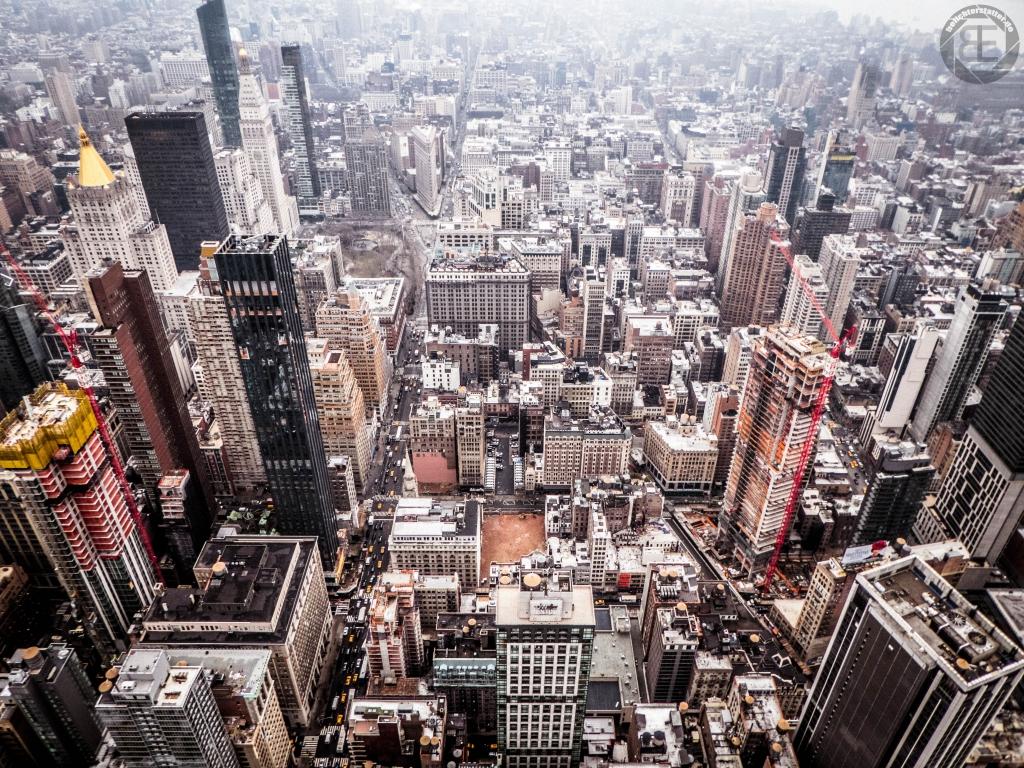 New York City 2019: Ausblick vom Empire State Building