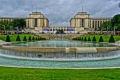 Jardins du Trocadéro in Paris