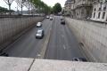 Tunnel unterhalb des Place de L'Alma in Paris (Hier starb Lady Diana 1997.)