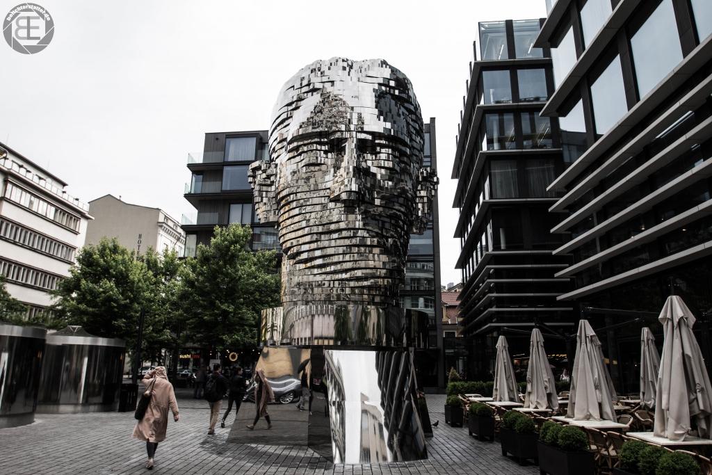 Franz-Kafka-Statue in Prag