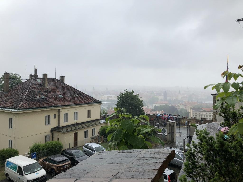 Ausblick auf Prag (iPhone-Bild)
