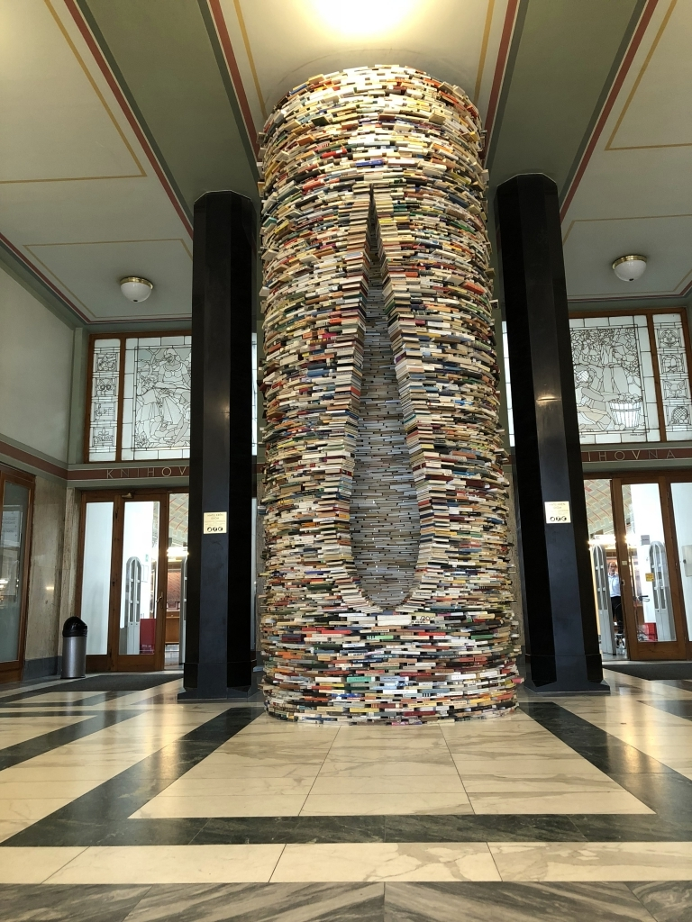 Municipal Library in Prag (iPhone-Bild)