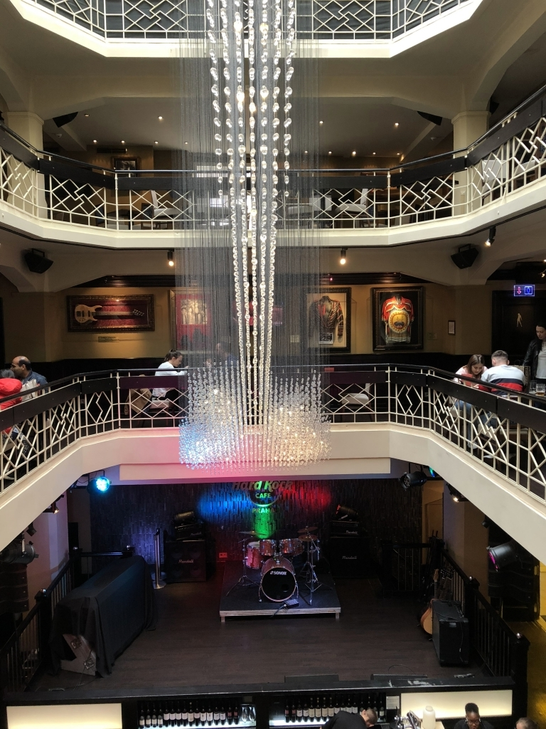 Hard Rock Café in Prag (iPhone-Bild)