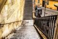 Treppe zur Karlsbrücke (Drehort 'Mission: Impossible')