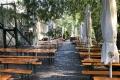 Biergarten in Prag (iPhone-Bild)