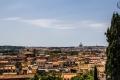 Blick auf Rom von der Villa Borghese