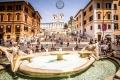 Scalinata di Trinità dei Monti in Rom