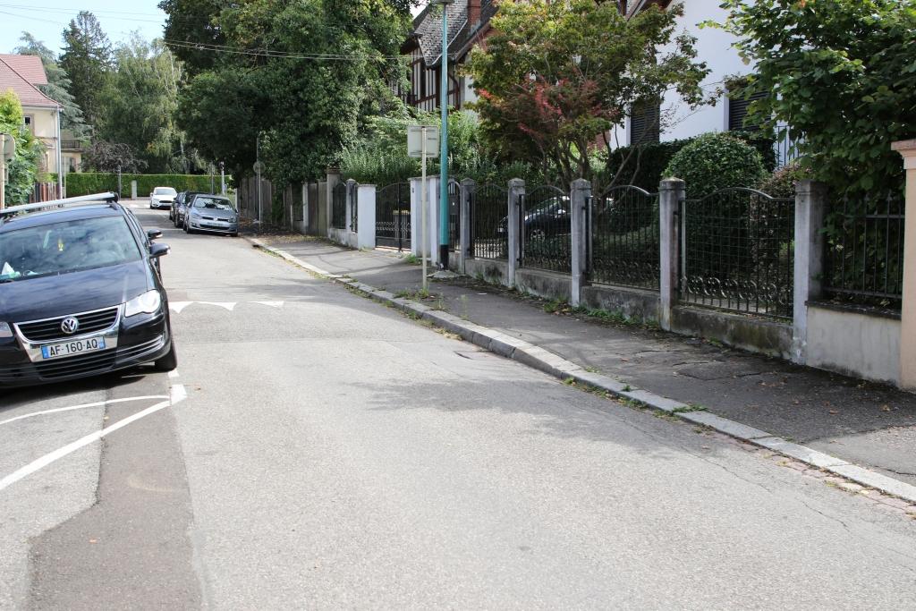 Rue Charles Péguy in Mülhausen