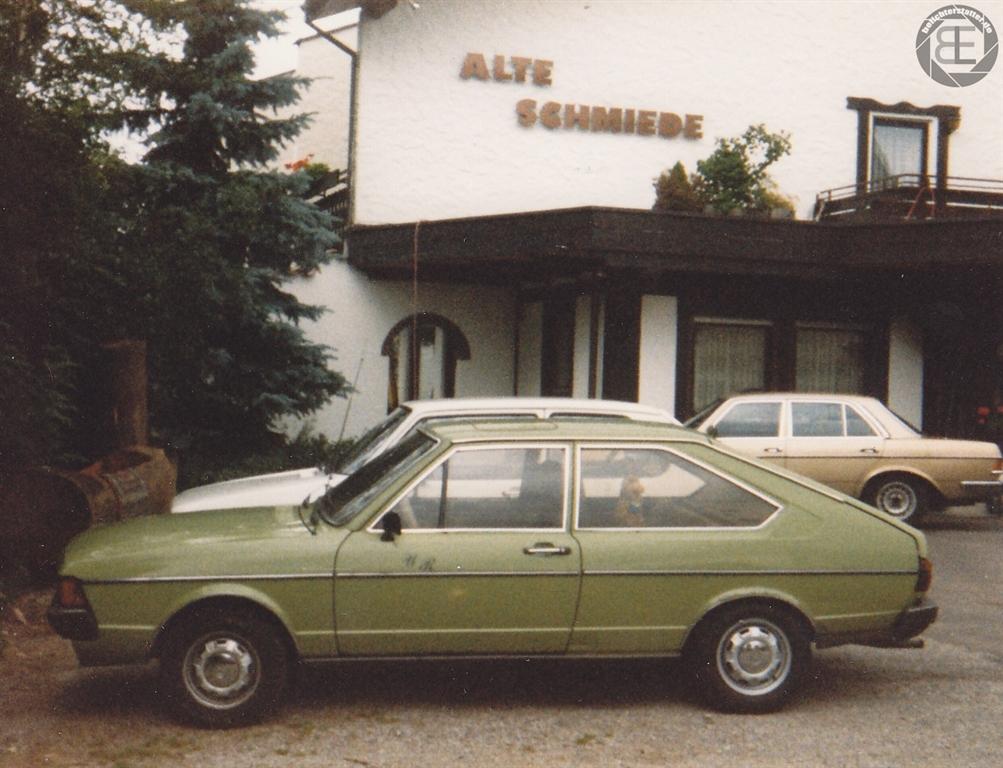 mein damaliges Auto im Urlaub im Schwarzwald 1989