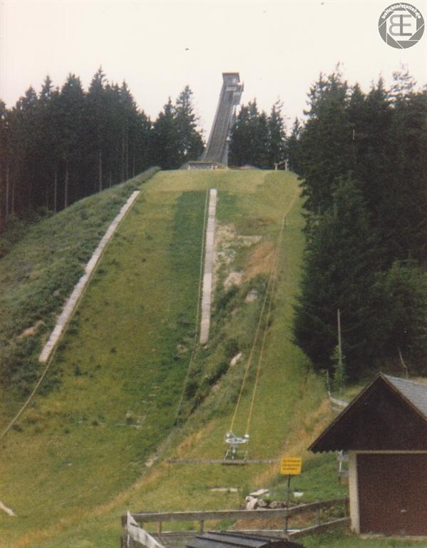 Langenwaldschanze in Schonach 1989