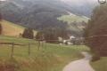im Glottertal auf dem Weg zur Schwarzwaldklinik 1989