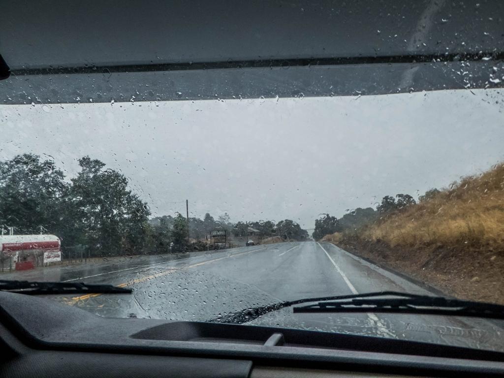 Wetterkapriolen in Kalifornien (September 2019)