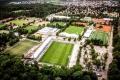 GAZi-Stadion auf der Waldau (Blick vom Stuttgarter Fernsehturm)